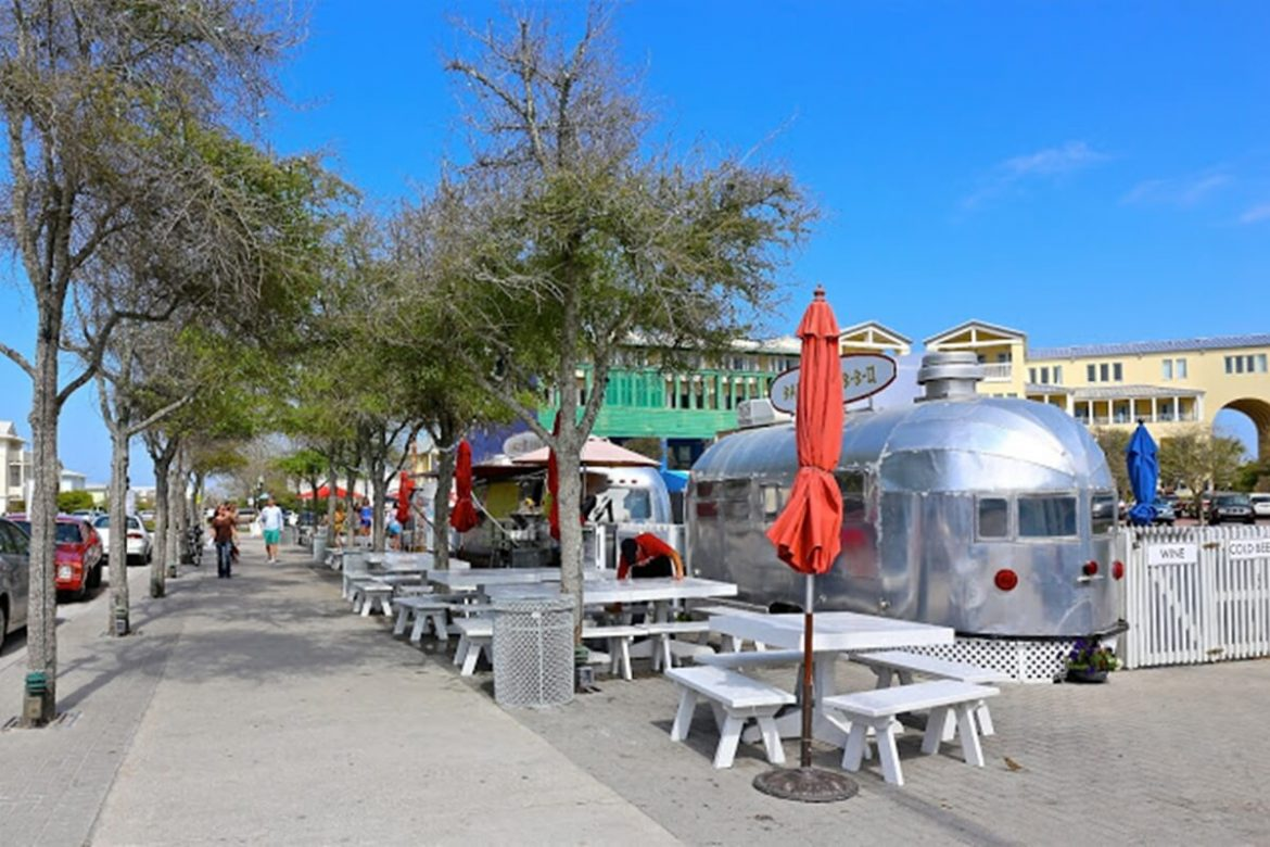 30-A Seaside Florida airstream trailer image.